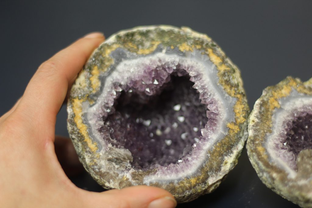 Mexican Coconut Geode at the Springfield Rock Show 2019