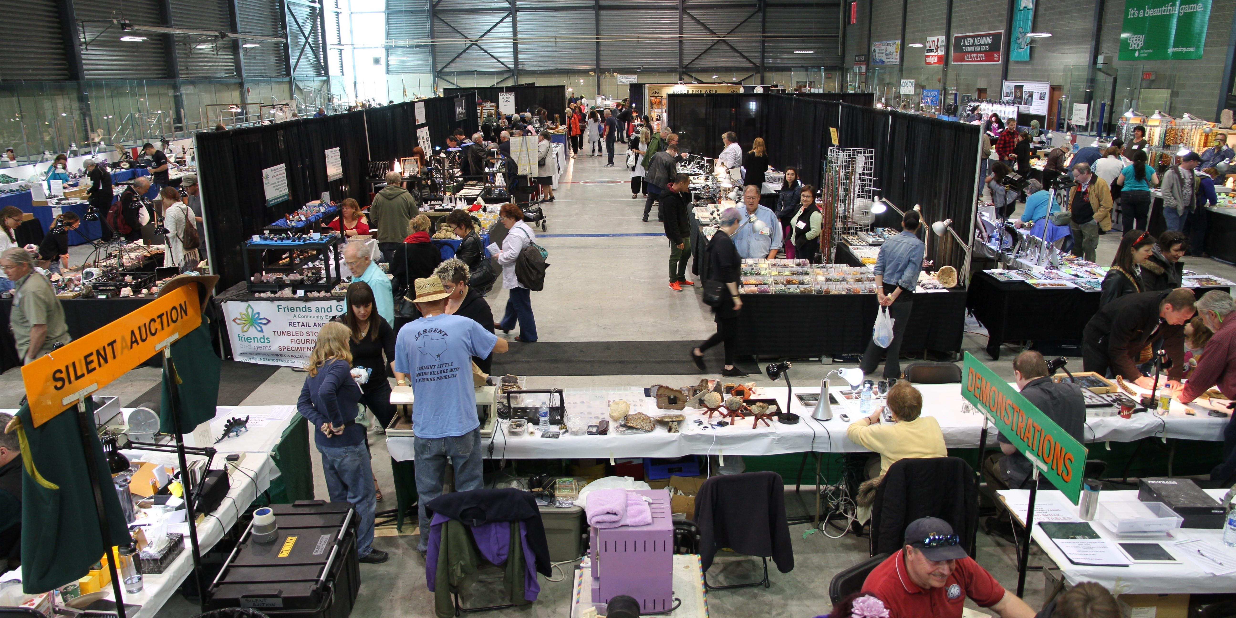 Gem And Mineral Show 2020.2020 Crlc Rock Mineral Show Rockhound In