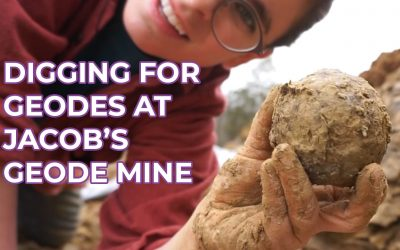 Digging for Geodes At Jacob's Geode Mine